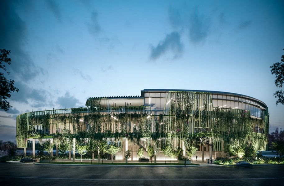 Artists impression of Cairns Convention Centre upgrade