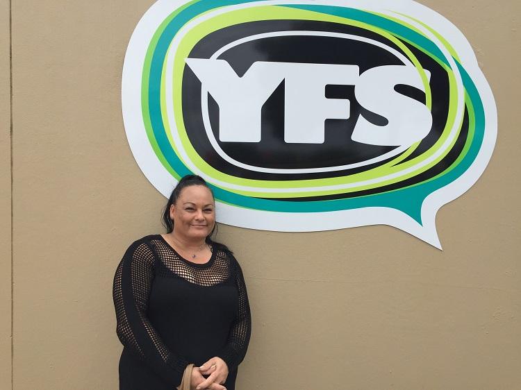 Sheena at YFS