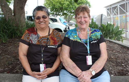 Aunty Shirley O'Shea and Aunty Shirley Fender