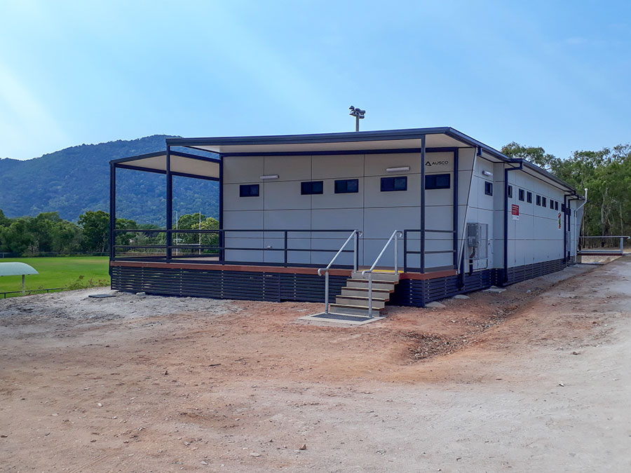 New female facilities at Cooktown Crocs Rugby League Club